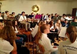 Schulorchester im Seniana