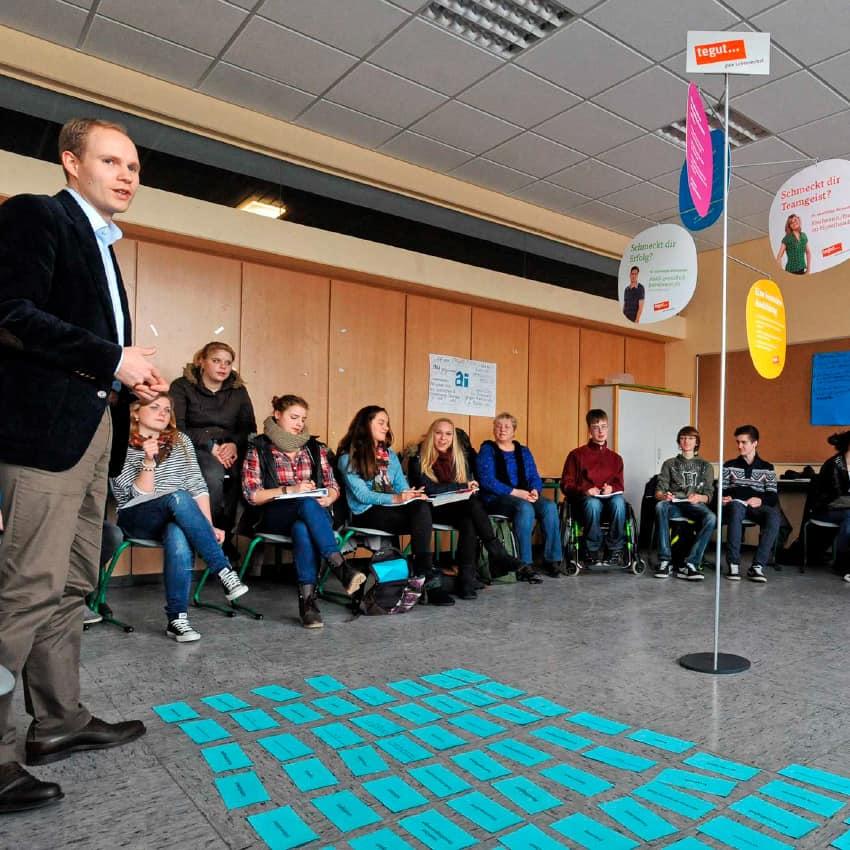 Berufsorientierung Jahnschule Hünfeld