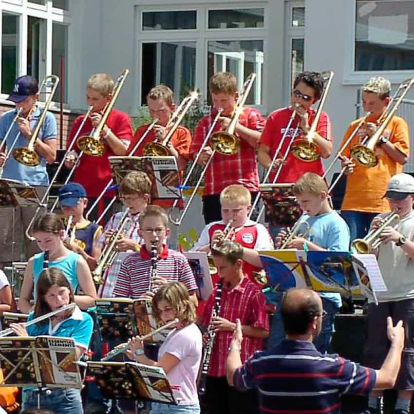 Bläserklasse Jahnschule Hünfeld