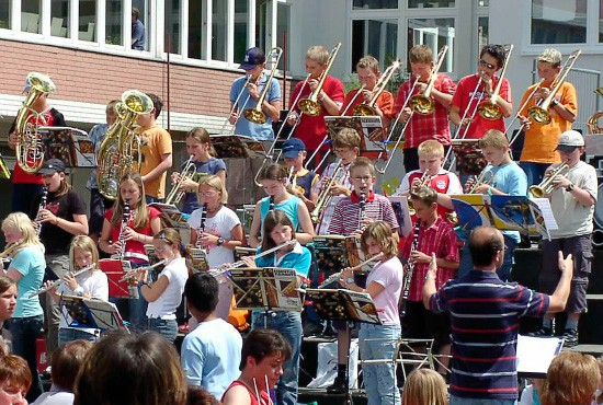 Hauptschule und Realschule - Bläserklasse Jahnschule Hünfeld