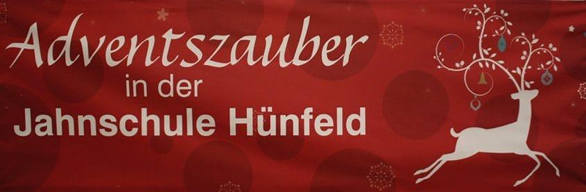 Adventszauber, Weihnachtsmarkt, Jahnschule in Hünfeld