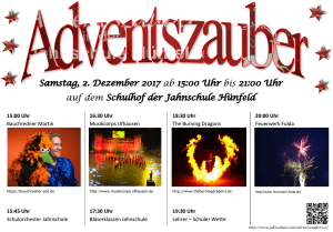 Adventszauber jahnschule huenfeld