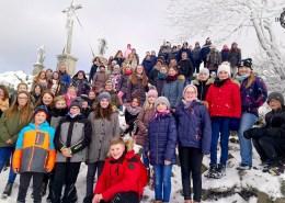Schüler der Jahnschule in Oberbernhards