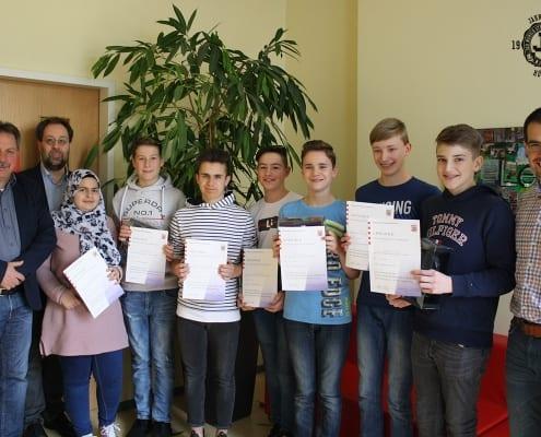 Mathematikwettbewerb in der Jahnschule
