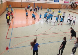 Völkerballturnier in der Jahnschule in Hünfeld