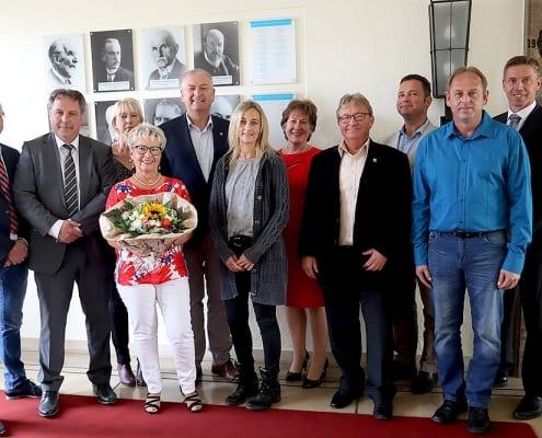 Schulsekretärin Renate Vieth - Jahnschule Hünfeld