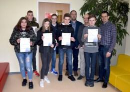 Mathesieger im Mathematikwettbewerb 2019 - Jahnschule Hünfeld